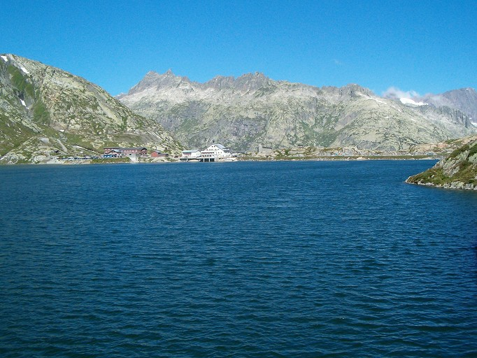 Grimsel Pass and Lake