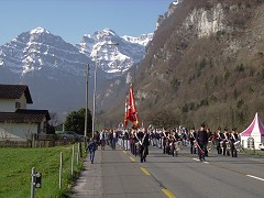 Näfelser Fahrt: Marching Band from Glarus